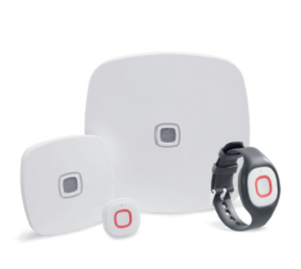 AQURA care platform - chiamata infermiera wireless